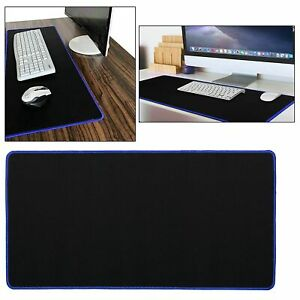 Large Cloth Extended Rubber Gaming Mouse Desk Pad Mat 60x30cm Office Keyboard