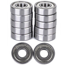 10pc 6000-Z Radial Ball Bearing Double Shielded Bore Dia. 10mm OD 26mm Width 8mm