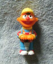 Sesame Street ~ Ernie w/ Jackhammer Figurine ~ Loose, Nice Condition