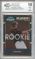 GIANCARLO STANTON MIKE Yankees 2008 Playoff #176/199 rookie BCCG 10 graded MINT