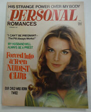 Personal Romances Magazine Forced Into A Club February 1970 062615R