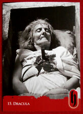 HAMMER HORROR - Series Two - Card #15 - Dracula - Strictly Ink 2010