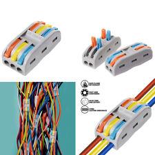 Reusable Wire Connectors Spring Lever 2 Way, 3Way, Terminal Block Spl-2 Spl-3