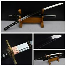 Hand Forge High Carbon Steel Japanese Samurai Sword Alloy Fittings Bill Katana