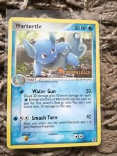 Pokemon Wartortle, 50/112, Pre Release Card, Ex Fire Red and Leaf Green Set