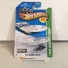 U.S.S. Enterprise NCC-1701 #60 * Star Trek * 2013 Hot Wheels * NB11