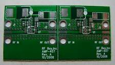 PCB for Hittite HMC407MS8G 5-7GHz MMIC Power Amp, Qty.2