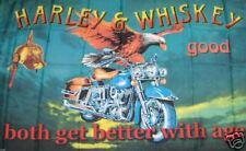 Harley & Wiskey schöne Posterfahne Fahne Fahne NEUWARE