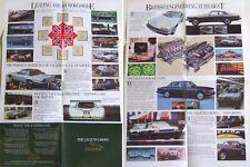 Jaguar Original small Publicity Folder The Legend Grows XJ + Daimler Range 1985