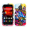 For ZTE Majesty 796C HARD Protector Case Snap On Phone Cover Pizato Butterflies