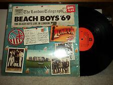 BEACH BOYS '69 The Beach Boys LIVE IN LONDON 1976 CAPITOL ST-11584 SHRINK EXC LP