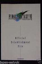 JAPAN Final Fantasy VII Establishment File Square book OOP