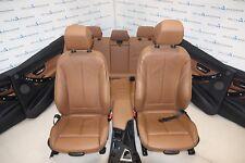 BMW F30 Sport Leather Seats Sitze Sportsitze Lederausstattung Dakota Sattelbraun
