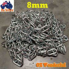 Galvanised Chain 8mm Zinc Coated Chain Linked Chain Anchor Welded Hot Dipped