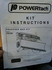 John Deere POWERtach XUV Gator  Blade Squeegee LPPK150 HEAVY DUTY