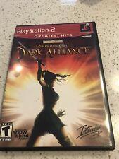 Baldur's Gate Dark Alliance PS2 Greatest Hits