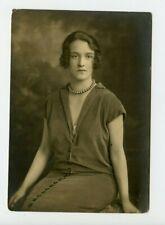 Vintage Press Photo Miss Valentine Carlisle Noted London Society Beauty