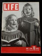 LIFE Magazine June 3, 1946 TRAIN - FORD - PARIS - SOVIET - FARMER - CHURCH - ART