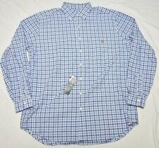 Polo Ralph Lauren Button Down Shirt Men's Size LT L-Tall Pocket Plaid Woven Q229