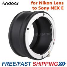 Andoer Adapter Mount Ring for Nikon Lens to Sony E NEX Mount NEX5 NEX3 M0O8