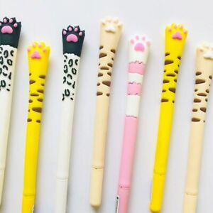 Cat Claw Pen cute cartoon Kitty needle ballpen planner school kawaii jotter biro