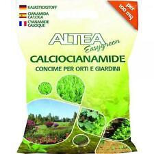 ALTEA Cianamida cálcica microgranular 5kg Plantas huerta jardín fertilizantes
