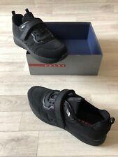Prada Trainers Ladies Prada Runners UK6.5 EU40 Black Prada Lurex Tech Shoes