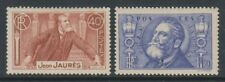 FRANCE - 1936, JAURES timbres - M/M - SG 551/2
