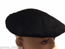 Ladies Ralph Lauren Black Linen Beret Hat, BNWT, RRP £185, One Size