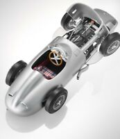 RARE MERCEDES W196 MONOPOSTO F1 1954-1955 SILVER 1:18 CMC (OEM DEALER MODEL)