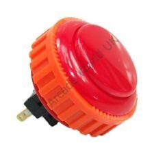 1 X Rojo Genuino Sanwa obsn - 30 Tornillo en Arcade botón - 30 mm agujero de montaje