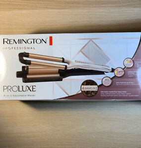 Remington Proluxe 4-in-1 Professional Adjustable Hair Waver