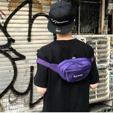 Supreme Waist Bag Purple Unisex 100% Authentic FW18 Winter 2018 Fanny Travel Bum