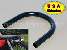 Black 23cm Cafe Racer Seat Frame Hoop Loop End Brat fit Honda CB750 CB550 CB500
