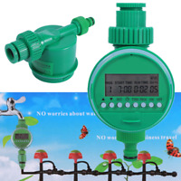 Automatic Electronic Water Timer Home Garden Watering Irrigation Controller Set