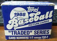 1988 Topps Traded Baseball Set (132 Cards) NRMT *PLEASE READ*