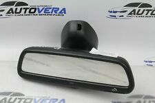 BMW E46 INTERIOR REAR VIEW AUTO-DIMMING MIRROR HOMELINK SOS BUTTONS 7115777