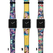 Gorillaz Apple Watch Band 38 40 42 44 Series SE 6 5 1 2 3 4 Wrist Strap iWatch