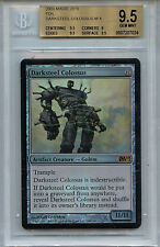 MTG Darksteel Colossus BGS 9.5 Gem Mint Magic M10 Mystic Foil card Amricons 7024