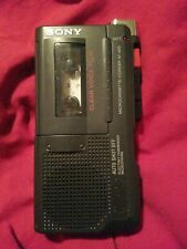 Sony M-450 Micro Cassette Recorder Condenser Microphone Clear Voice Plus
