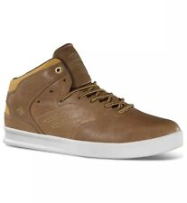 Emerica Mens Size 5.5 M  Brown The Reynolds LX Skate Shoe Lace Up Skateboarding