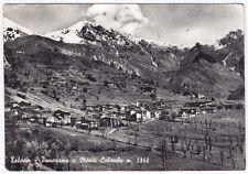 80219 TORINO RIBORDONE - TALOSIO - MONTE COLOMBO Cartolina FOTOGRAF. viagg. 1952