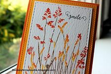 Penny Black cling mounted rubber stamp - NATURES PAINTBRUSHES, grasses
