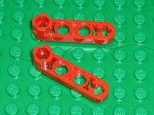 LEGO TECHNIC Technic Red Beam 4 x 0.5 Liftarm ref 2825 / set 8653 8857 8273 8440