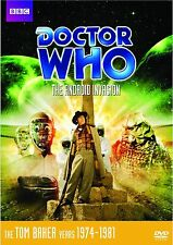 Doctor Who - The Android Invasion Special Edition UK Region 2 NEW Tom Baker Jon