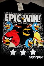 XL 18 BOYS  ANGRY BIRDS EPIC WIN SHIRT   NEW  $18