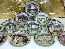 10 Glenna Kurz WELCOME HOME Country Flowers Garden Collector Plates Complete Set