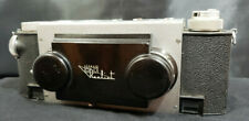 STEREO REALIST 3-D CAMERA - 35mm David White Co.  + Leather Case. VINTAGE nice