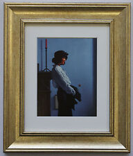 A Valentine Rose by Jack Vettriano Framed & Mounted Art Print Picture Gold