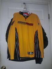 Indiana Fever Indy Warm-up Long Sleeve basketball Shirt Jersey WNBA Adidas NEW M